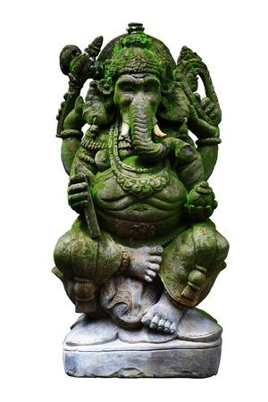 isolate Ganesha statue