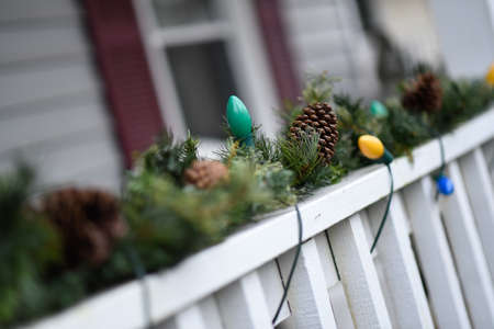Outside christmas decorations. Reklamní fotografie
