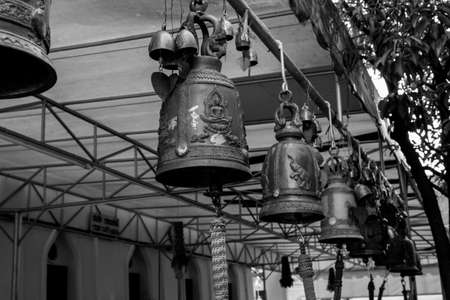 asian bell Stock Photo