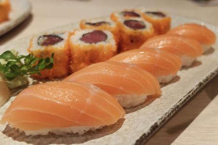 art: Sushi dish art