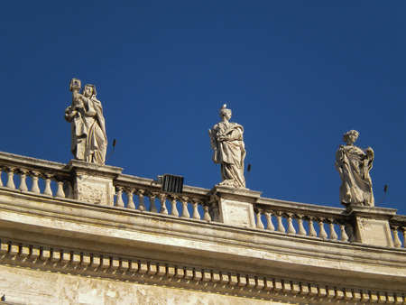 st  peter s square: St  Peter s Basilica, St  Peter s Square, Vatican City Editorial
