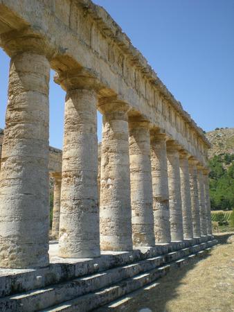 grec antique: Temple grec antique � S�linonte en Sicile, Italie
