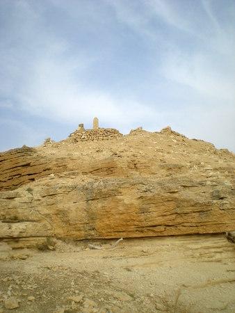 assad: Archaeological site near the Euphrates river, Syria