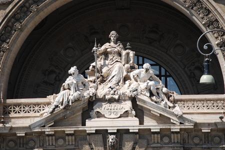 Palazzo di Giustizia in Rome