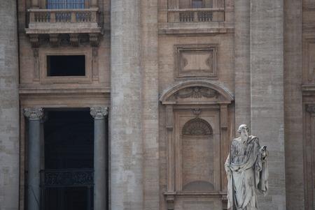 ciudad del vaticano: Vaticano Plaza de San Pedro s en la Ciudad del Vaticano Foto de archivo