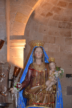 homily: Statues of Holy Women