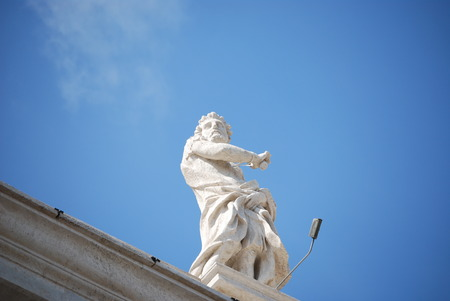 St  Peter s Basilica, St  Peter s Square, Vatican City Stock Photo
