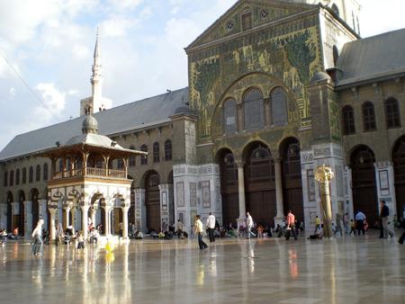 Ummayad Mosque in Damascus Editorial