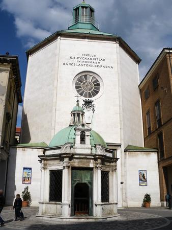 rimini: Rimini old town Editorial