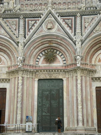 siena: Cathedral of Siena in Italy Stock Photo