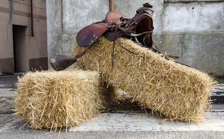 saddle: Vintage Horse Saddle