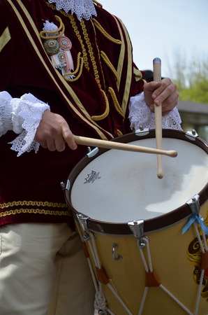 customs and celebrations: Drummers and trumpeters of Oristano - Sardinia