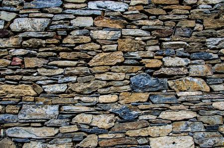 Stenen muur textuur Stockfoto