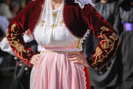 religious clothing: Folk of Sardinia