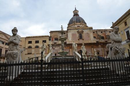 Pretoria Fountain, Palermo