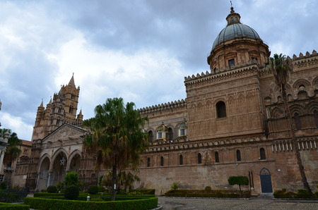 Cathedral of Palermo, Italy Stock Photo