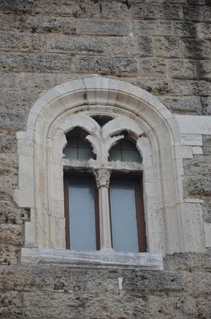 Bari Castle - Old Town architecture Stock Photo