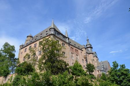 Castle in Marburg, Germany Editorial