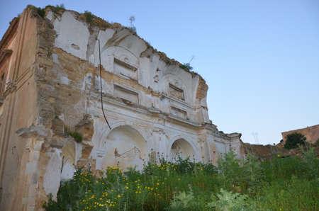 Old ruins in Santa Margherita del Belice, Sicily
