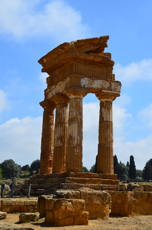 Temple of the Dioscuri in Agrigento