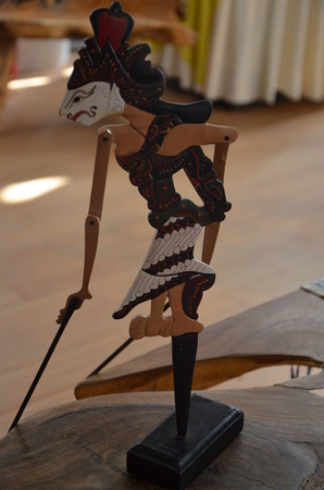 Indonesia - Traditional Javanese puppets