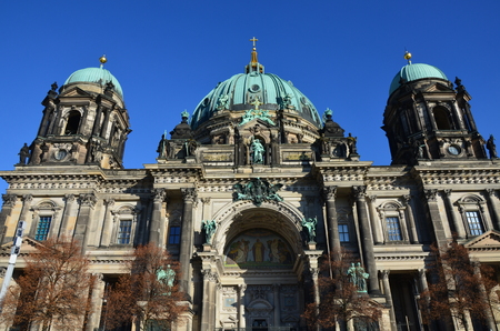 Berlin Cathedral church Berliner Dom