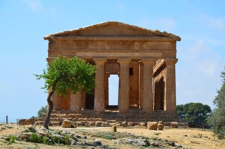 Temple of Concordia in Agrigento, Italy