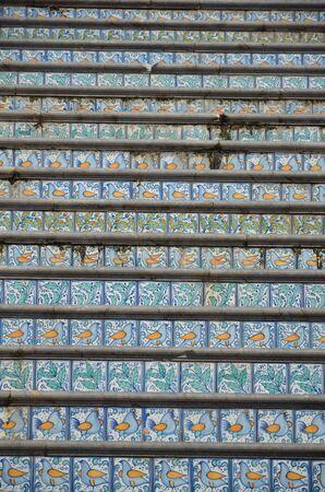 Cefalu, Italy - detail of streets Zdjęcie Seryjne