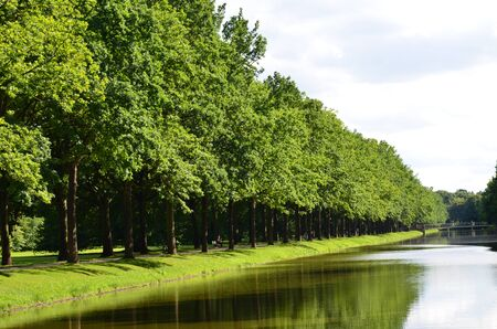 The central park of Kassel, Germany