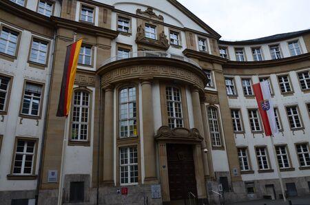 Old traditional buildings in Frankfurt am Main, Germany Фото со стока