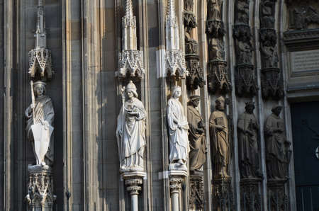 Cologne Cathedral - a Roman Catholic Gothic cathedral in Cologne