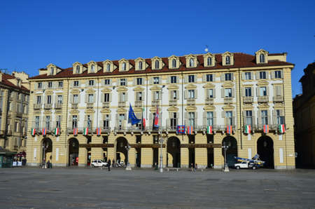 old archecture of Turin, Italy