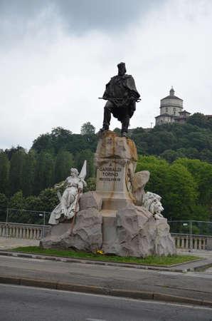 view of the city of Turin, Italy 版權商用圖片