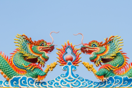 festiva: dragon of chinese Stock Photo