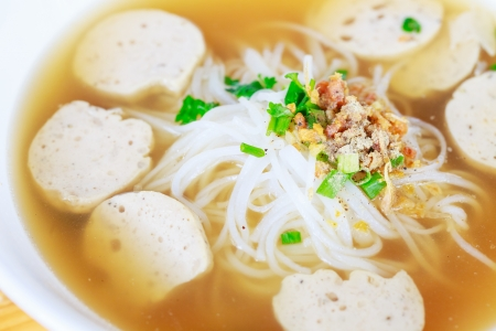 seekh: close-up pho moo yo Vietnam