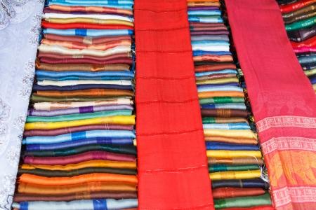 cloth striped art thailand photo