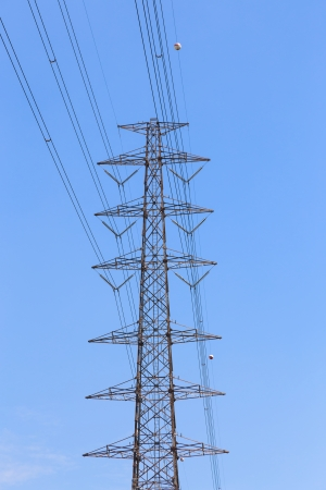 higt tower of power  electrical  equipment photo