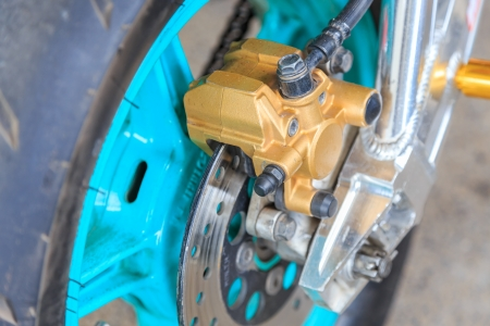 disc brake for motorcycles photo