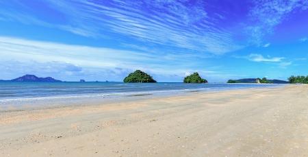 panorama beach: panorama spiaggia nop parathara isola Krabi Thailand