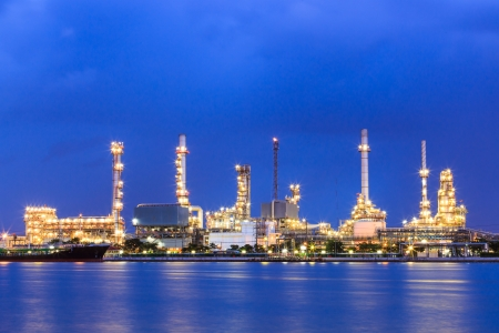 industria petroquimica: tuber�as de petr�leo y gas y la industria petroqu�mica Foto de archivo