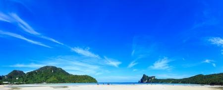 kho phi phi island at krabi thailand photo