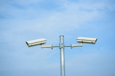 security monitor: CCTV security camera monitor