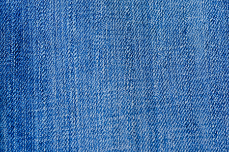 Blue denim jean fabric texture for background