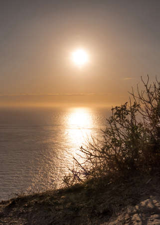 dreamy: Dreamy sunset in Ibiza