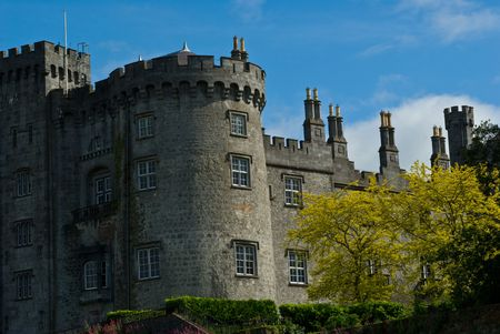 Part of Kilkenny castle in Ireland photo