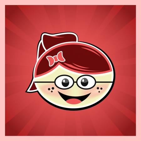 redhair: Cute girl