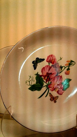 Fancy Decorated Plate