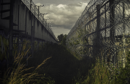 Abandoned Prison Jail Ruin Forgotten Imprisonment Freedom Concept