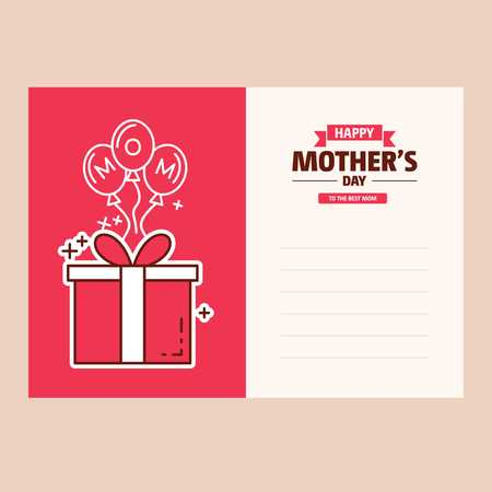 happy mother day, holiday pink flower on blue background. can be use for sale advertisement, backdrop. vector - For web design and application interface, also useful for infographics. Vector illustration. Ilustracja