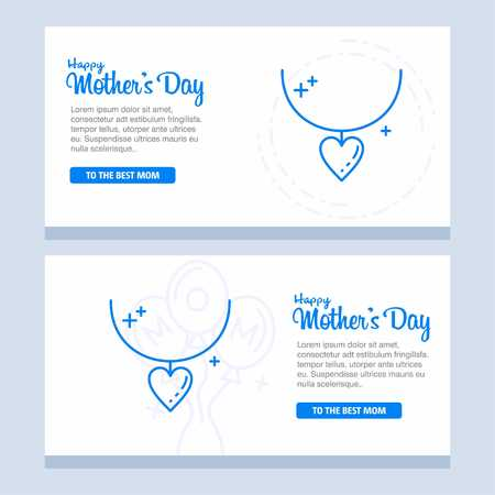 happy mother day, holiday background. can be use for sale advertisement, backdrop. vector - For web design and application interface, also useful for infographics. Vector illustration.